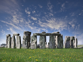 Mysterious Stonehenge in UK
