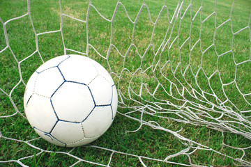 Ball in the net.