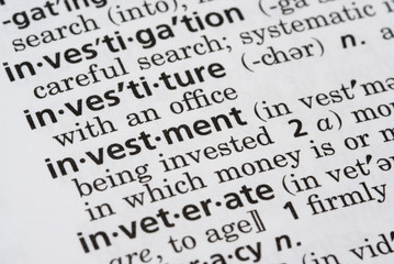 Investment Defined