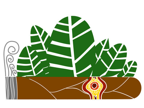 cigar and leafs