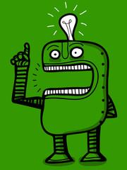 idea of the robot