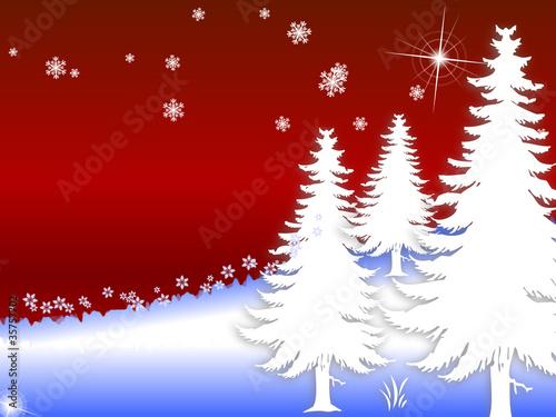winterlandschaft weihnachten sterne stockfotos und. Black Bedroom Furniture Sets. Home Design Ideas