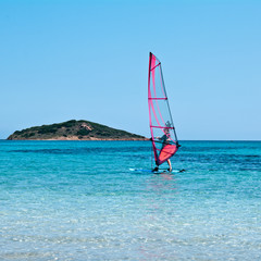 Windsurfing auf Korsika