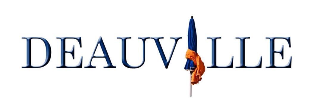 Deauville, logo fond blanc