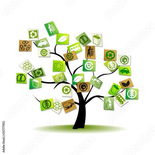 Arbol sostenible im genes de archivo y vectores libres for Tecnologia sostenible