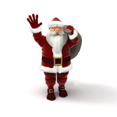 greeting santa claus