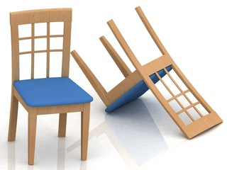 wooden classic chairs