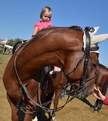 équitation enfant