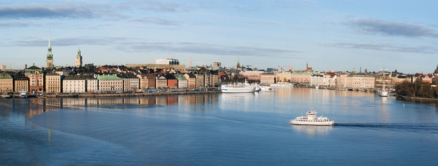 A view of Stockholms old city