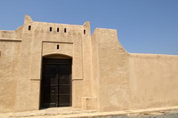 old arabian castle in Fujairah United Arab Emirates