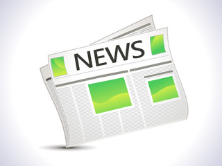 abstract news paper icon
