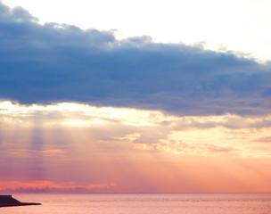 Clouds Heavens Sunrise