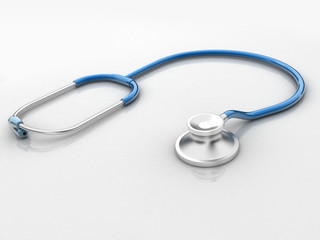 Stethoscope isolated in white background