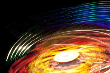 lights motion background