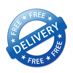 """""""FREE DELIVERY"""" Marketing Stamp (service home express shipping)"""