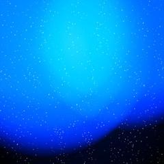 Blue fog light circles background.