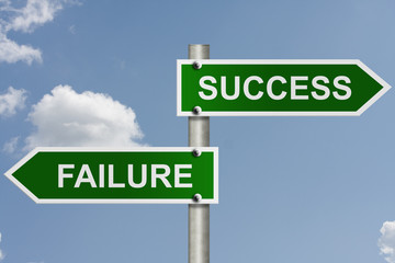 The way to success or failure