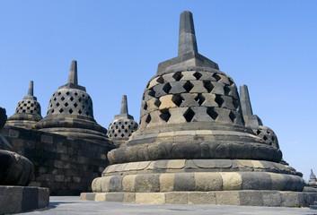 Buddhist temple Borobudur. Yogyakarta