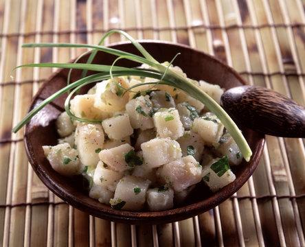 salade de cristophines
