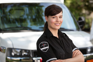Woman Paramedic