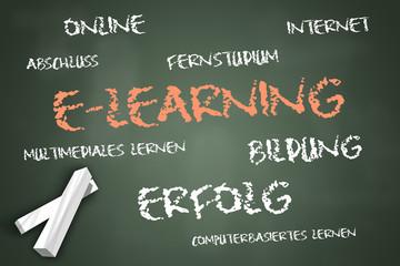 "Schreibtafel ""E-Learning"""