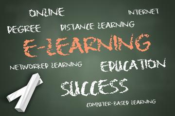 """Chalkboard """"E-Learning"""""""