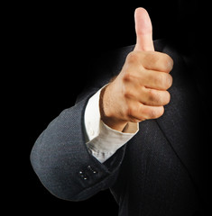 Approval gesture