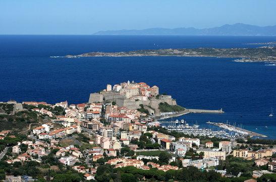 ville de Calvi ,balagne,corse,corsica