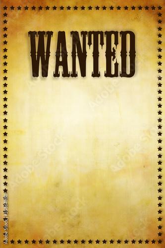 u0026quot affiche wanted u0026quot  photo libre de droits sur la banque d u0026 39 images fotolia com