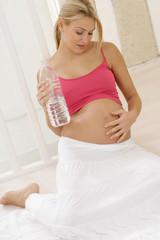 Gymnastique prénatale - Pose