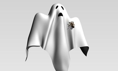 duch z pająkiem