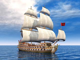 Beautiful Sailing Ship
