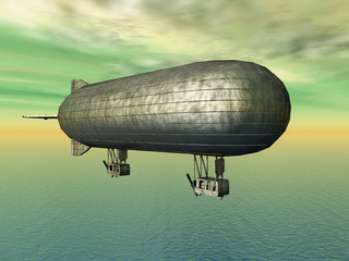 Fantasie Luftschiff