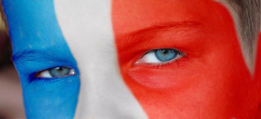 Jeune supporter français