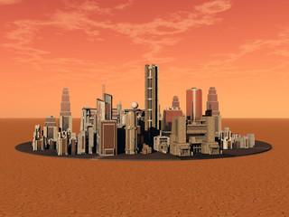 Kolonie auf dem Mars