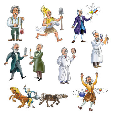 The celebrated people of Germany scientifics