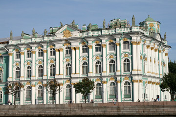 Winter Palace in Saint Petersburg Russia