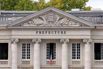 La préfecture de Nantes