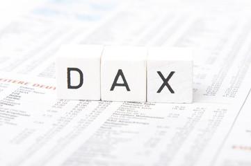 Buchstabenwürfel - Dax