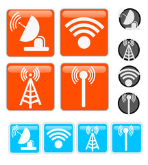 Signal Vector Icons