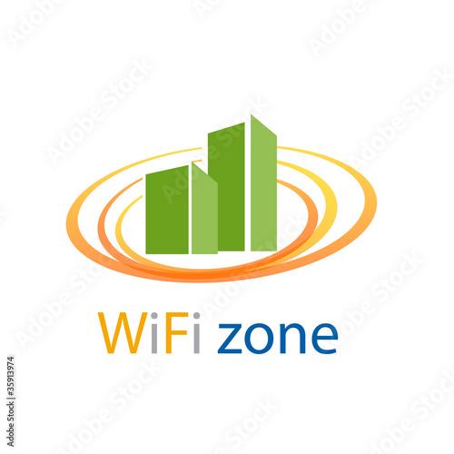 quotlogo wifi zone vectorquot im225genes de archivo y vectores