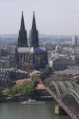 Poster Northern Europe Kölner Dom komplett