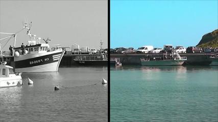 Fototapete - Port-En-Bessin-Huppain - Le port