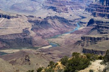 View over Grand Canyon Arizona USA