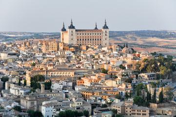 Panoramic view of Toledo and Alcazar, Spainº