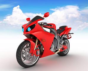 Keuken foto achterwand Motorfiets Motorbike prototype
