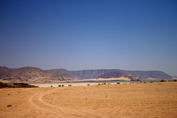 Panoramica del Wadi Rum