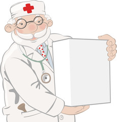 Doctor advertises white box of cure