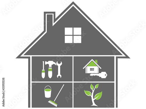 facility management logo hausmeisterservice logo stockfotos und lizenzfreie vektoren auf. Black Bedroom Furniture Sets. Home Design Ideas