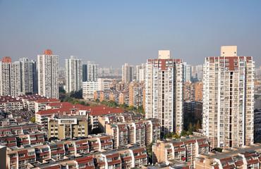 Urban landscape of shanghai